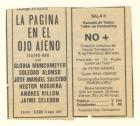 Nota de prensa sobre obra de teatro No+