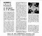 Presentación de la exposición de Norberto Puzzolo