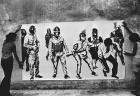 Mural colectivo enviado para participar de una exposición en París