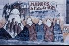 Mural de apoyo a las Madres de Plaza de Mayo