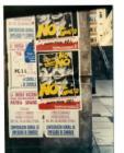 """Afiche del Partido Comunista: """"Punto Final No, Obediencia Debida No, No a la  al indulto. Consulta popular ya"""""""