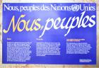Nous, peuples des Nations Unies