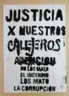 Justicia por nuestros Callejeros