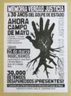 Memoria, verdad y Justicia a 30 años del golpe de Estado.