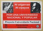 Por una universidad nacional y popular