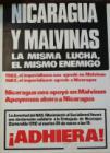 Nicaragua y Malvinas. La misma lucha, el mismo enemigo.