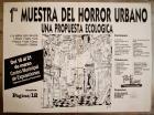 1° muestra del Horror urbano
