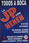 La JP con Menem