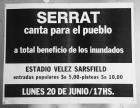 Serrat canta para el pueblo