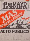 1° de Mayo socialista