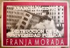 Arancelamiento destrucción de la Universidad Pública