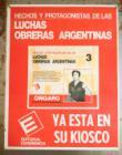 Hechos y protagonistas de las luchas obreras argentinas