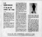 Presentación de la exposición de Lía Maisonnave