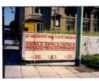 Afiche de la  Unión Cívica Radical convocando a marcha contra el indulto otorgado por Menem