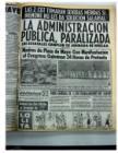 Nota en diario Crónica el día del primer Siluetazo