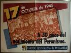 A 50 años del nacimiento del Peronismo