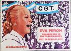 Eva Perón abanderada de los trabajadores